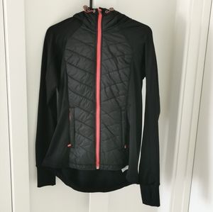 Like new puffer running Hoodie jacket hyba